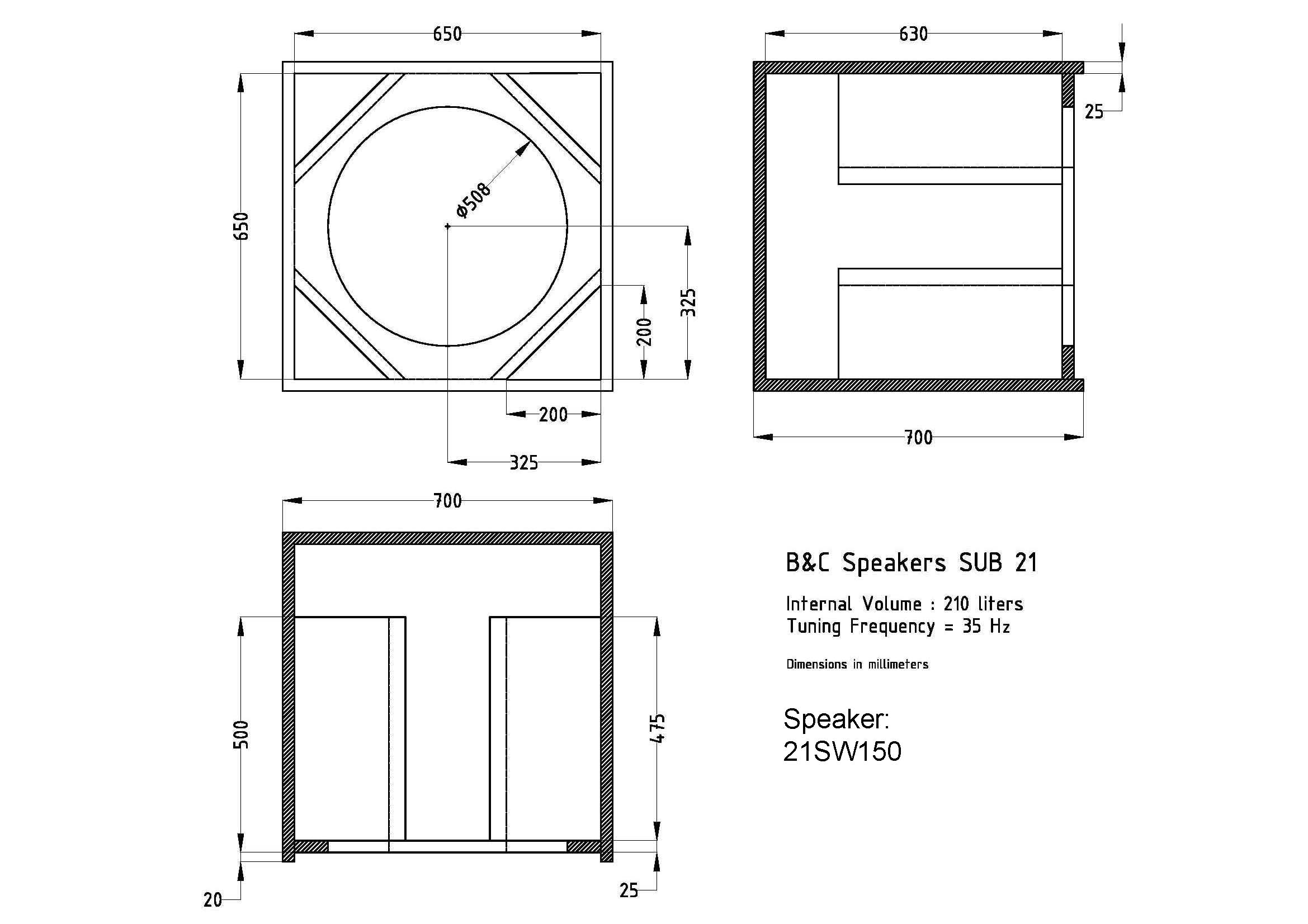 15 inch subwoofer speaker box plans 15 free engine image for Ukuran box salon 8 inch